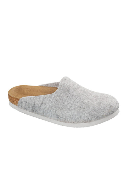 Birkenstock Amsterdam light grey felt