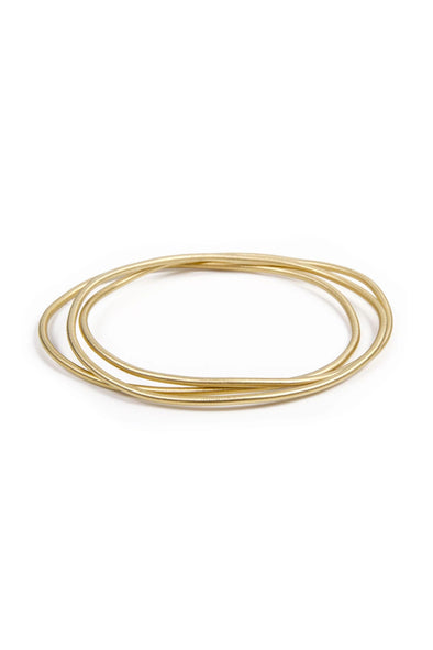 fairley gold bangle set
