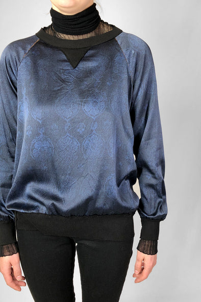 lucent top brocade