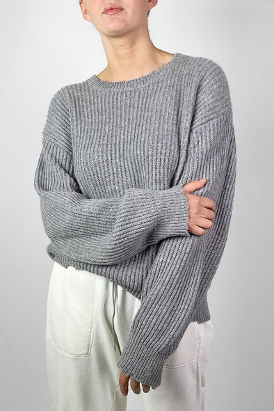 Re-Luxed | RL0475 | RtA denim - cashmere scoop neck sweater