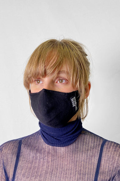 Standard Issue cotton face mask - with 5 x LANACO Helix.ISO wool filters