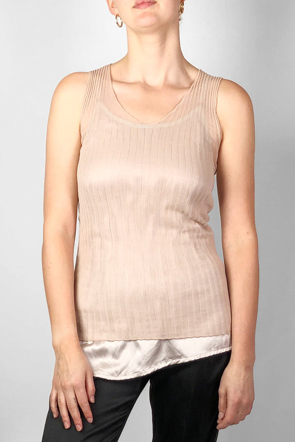 Standard Issue - Cotton Tulle singlet