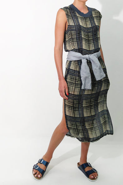 twiggy dress plaid