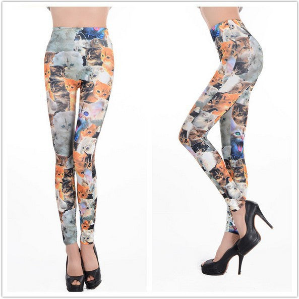 2017 New  Cat Leggings For Women