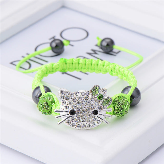 Cute Cat  Children Bracelet