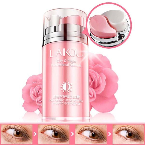 Rose Oil Day and Night Elastic Eye Cream