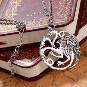 Game Of Thrones Dragon Pendant Necklace
