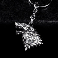 Game of Throne family logo keychain