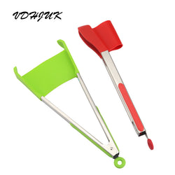 2 in 1 Kitchen Spatula Tongs