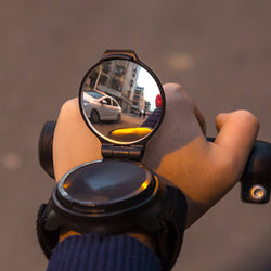 360° Cycling Wristband Mirror