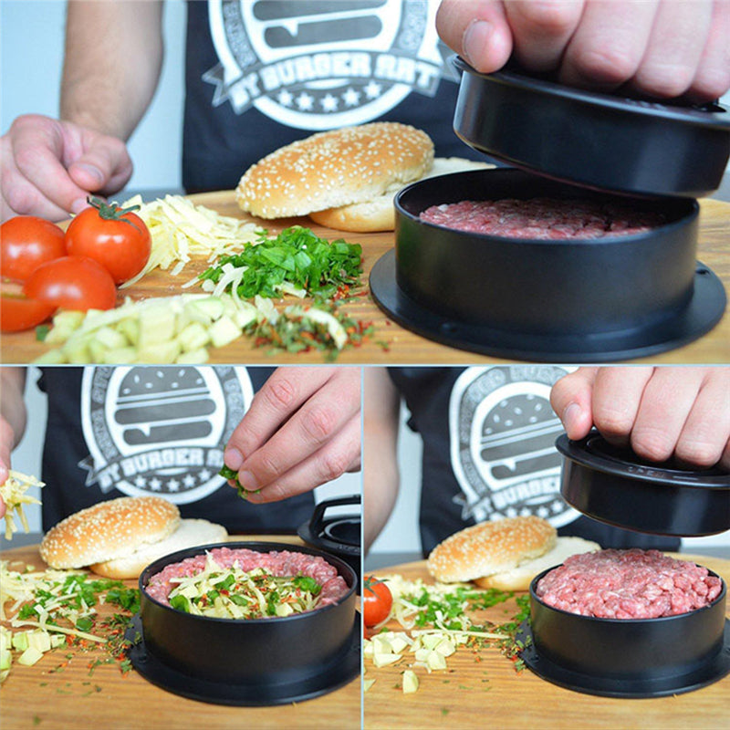 High Quality 3-in-1 Burger Press