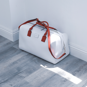 The Zoma Weekender In White & Red (Limited Edition)