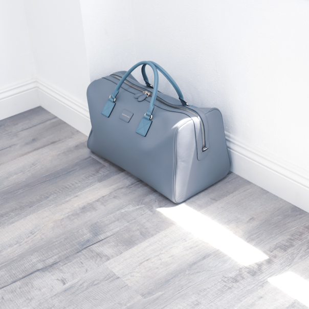 The Zoma Weekender in Gray & Teal