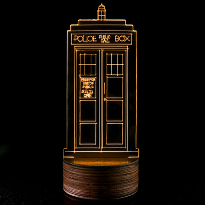 Dr who tardis 3d led lamp next vibe dr who tardis 3d led lamp mozeypictures Gallery
