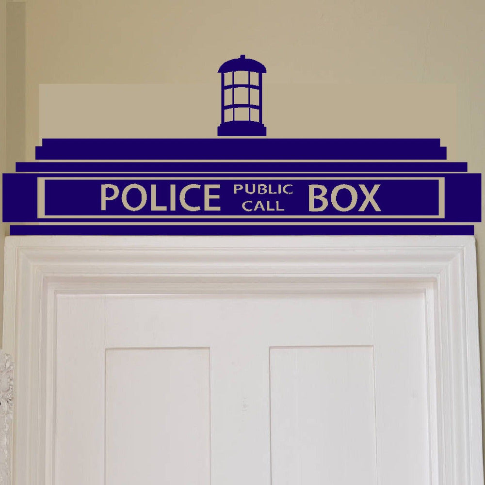 majestic dr who tardis door decal. Awesome Doctor Who Tardis Wall Sticker Next Vibe Good Looking Door Decal  Home Design Plan
