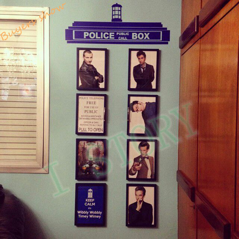 Awesome Doctor Who Tardis Wall Sticker