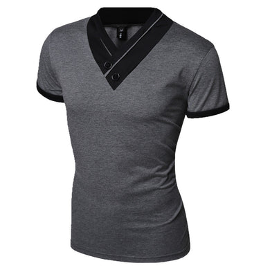 Casual Men t-shirt 2016 hot fashion solid t shirt men t shirt clothes