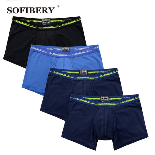 SOFIBERY  Man Underwear  Boxers Cotton