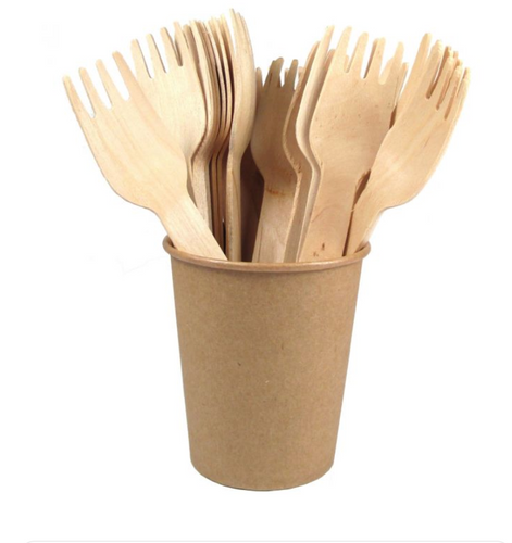 Big wooden Fork 1000pcs