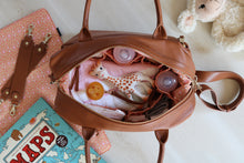Isla Nappy Bag - Tan (NEXT DELIVERY MID MAY)