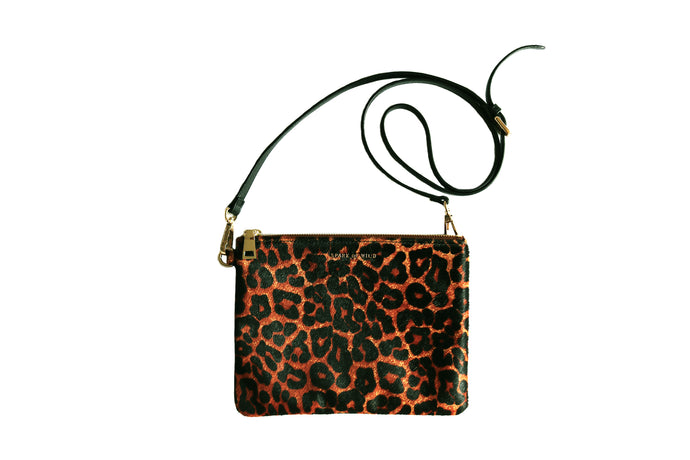 Lily Leopard Clutch