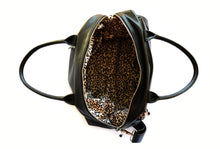 Stylish Leather Nappy Bag Leopard print