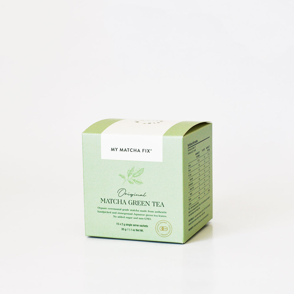 Original Matcha Green Tea Sachets 30g