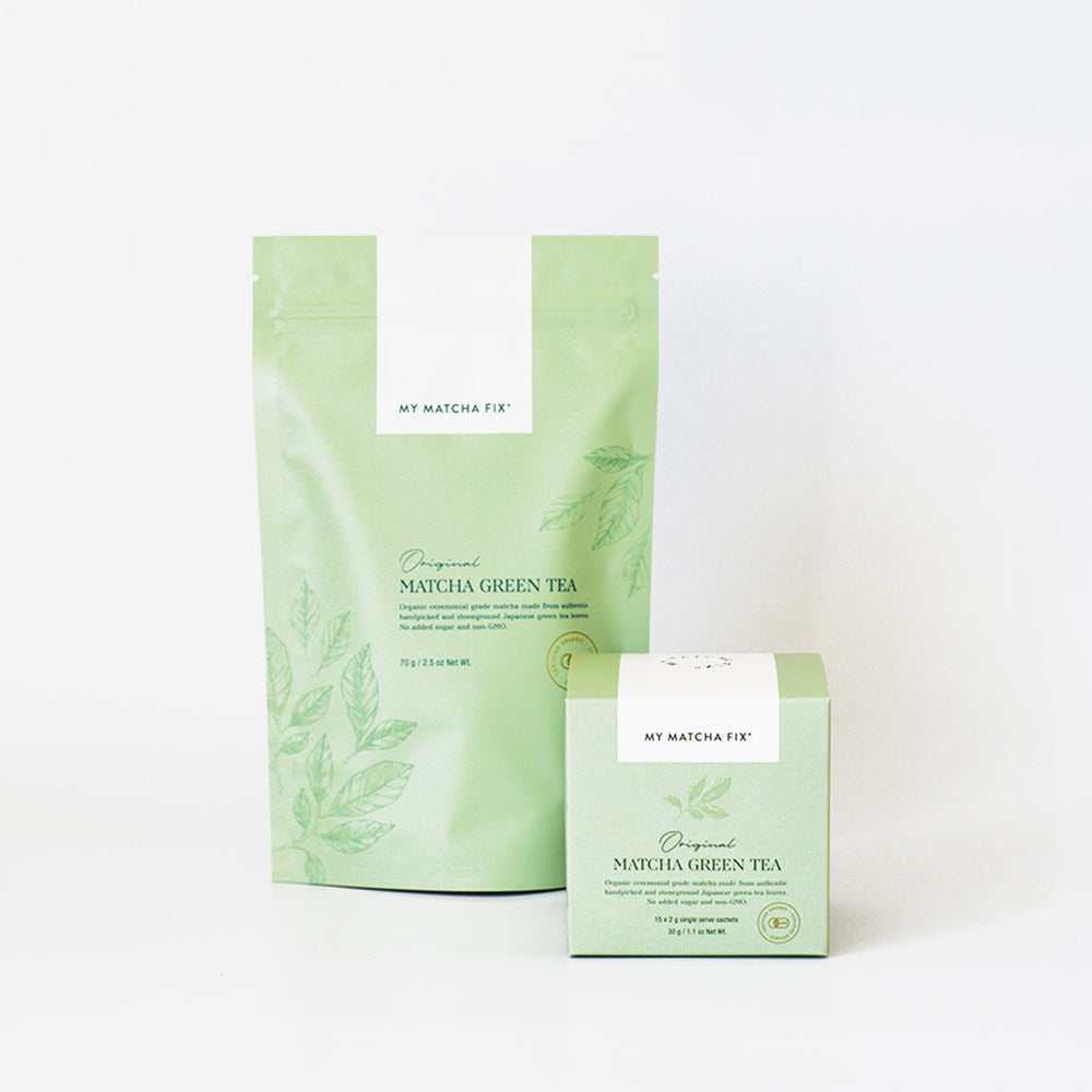 Original Matcha Green Tea Duo