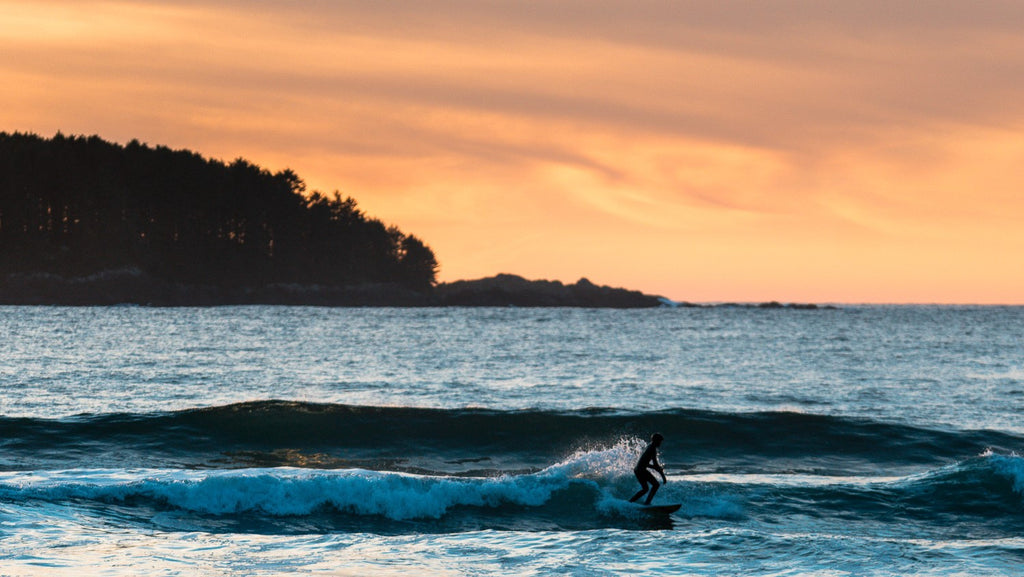 Grom surfing in Tofino