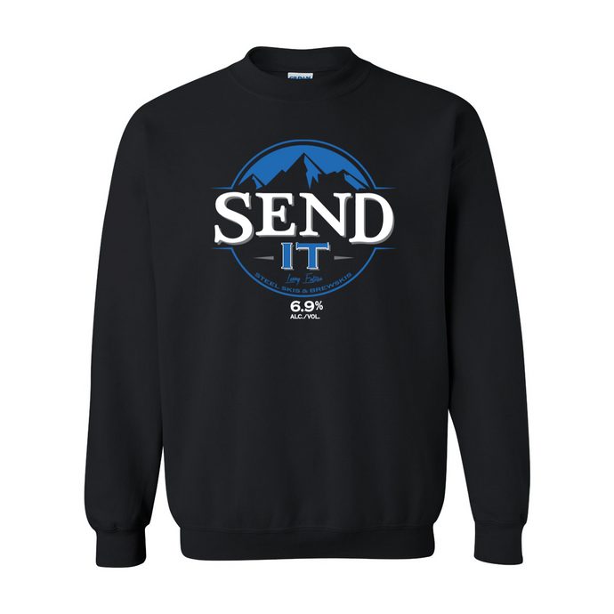 BUSCH SEND IT CREW NECK SWEATER