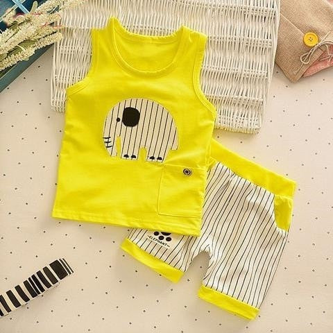 Baby Boys Girls  Cartoon Casual Suits - GrandTrends