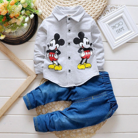 Boys Mickey mouse Clothing Sets - GrandTrends