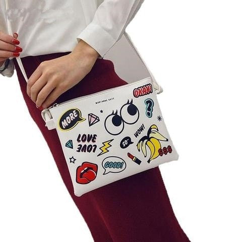 Cartoon Printed Women Handbag - GrandTrends