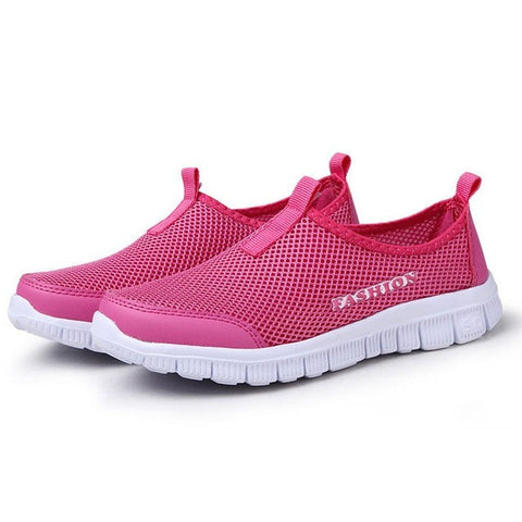 Fashion Air Mesh Summer Shoes Female - GrandTrends