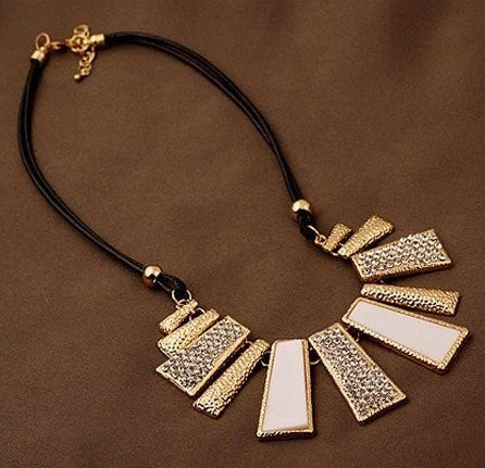 Jewelry Trendy Women Necklaces rectangle - GrandTrends