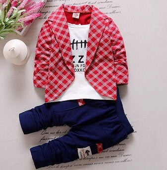 Baby Boys Autumn Clothing Set - GrandTrends