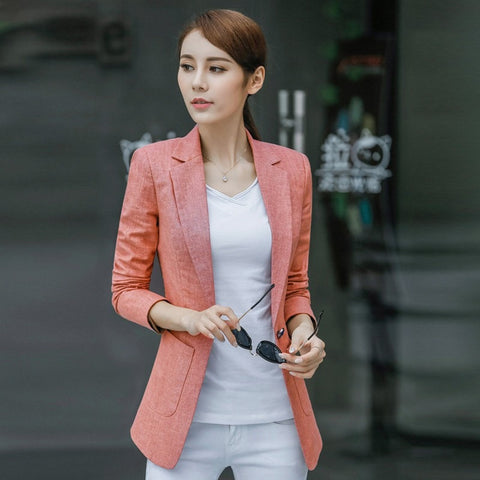 New Women's Blazer - Spring 2017 Fashion, Classic with solid colors - GrandTrends