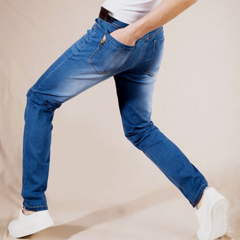 New Stretch Cotton Jeans Lightweight - GrandTrends
