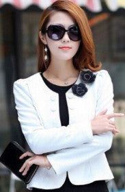 Women Slim Blazer Jackets - GrandTrends