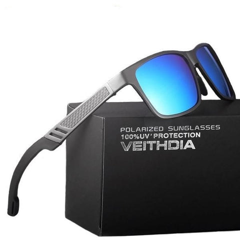 Aluminum  Men Mirror Driving Glasses - GrandTrends