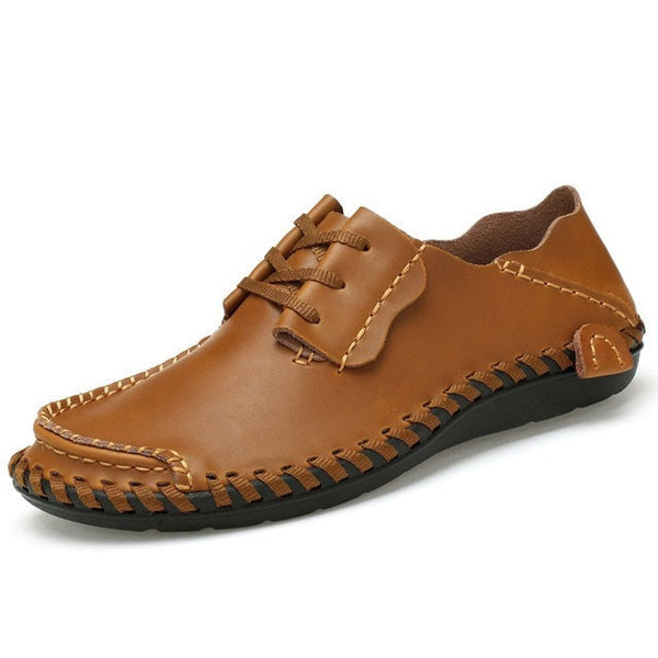 Men's handmade Genuine Leather shoes - GrandTrends