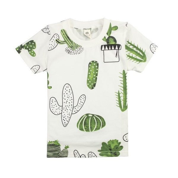Boys  Cartoon Funny Design T-Shirts - GrandTrends