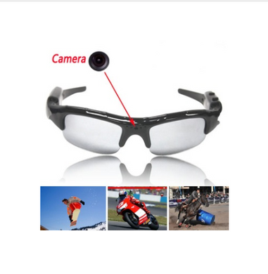 Eyewear Sunglasses UniSex Video Recorder Camera For Driving Outdoor Sports