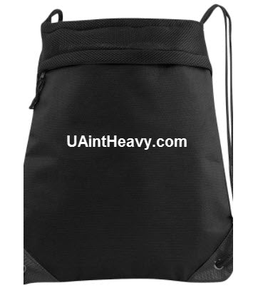 UAintHeavy.com Drawstring Bag