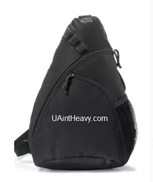 UAintHeavy.com Wave Sling Bag