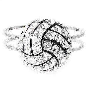 Crystal Volleyball Bangle