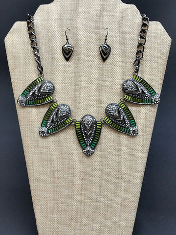 Aztec Necklace Set