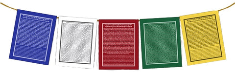 Prayer for Averting Nuclear War Flags, Set of 5