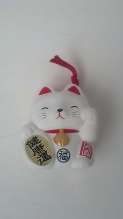 Maneki-Neko Fortune Cat Bells, Set of Two - Neko-Chan Incense