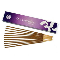 Om Lavender Incense - 15 gms - Neko-Chan Incense